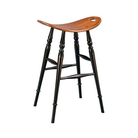 Saddle Seat Bar Stool by Saddle Seat Bar Stool American Made Custom Furniture