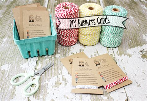 Handmade Card Company Names - diy business cards crafty style live laugh rowe