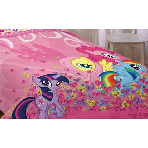 my little pony twin bedding new my little pony pink hearts twin comforter unicorn