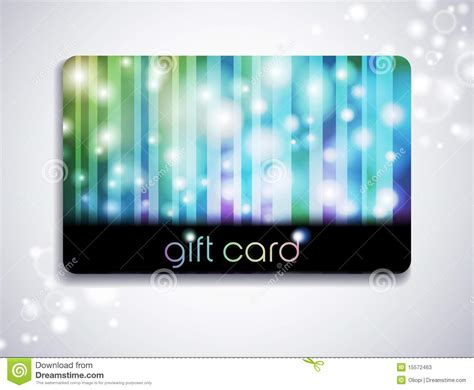 Rainbow Gift Card - rainbow gift card stock photos image 15572463