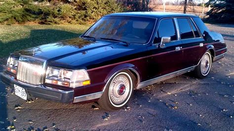 how cars engines work 1986 lincoln continental mark vii navigation system mint pimped out 1986 lincoln continental gevinchy edition tinted with sound system youtube