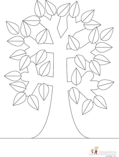 12 geniales plantillas gratuitas para que los adultos 17 mejores ideas sobre plantillas de 193 rbol geneal 243 gico en