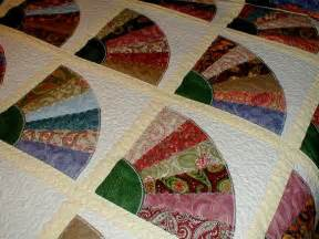 reserved for erica queen size bed quilt grandmother s fan