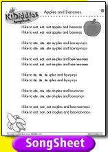 banana boat sunscreen theme song lyrics apples and bananas song and lyrics from kididdles