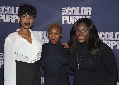 the color purple broadway cast hudson photos photos the color purple