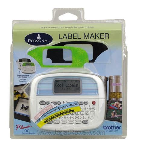 Printer Label Pt P900w Label Maker Pembuat Label Pt P900w review printer label p touch pt 90 official