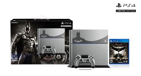 ps4 bundle batman arkham ps4 limited edition bundle revealed