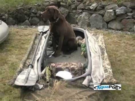 homemade layout boat doors aquapod boats full length video by ragged outdoors youtube