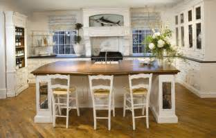 Cottage Kitchen Furniture by Custom Cottage Style Cabinetry Captures Spirit Of Summer