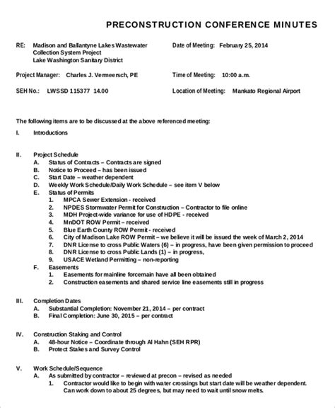 how to type up minutes for a meeting template meeting minutes templates 22 free word pdf documents
