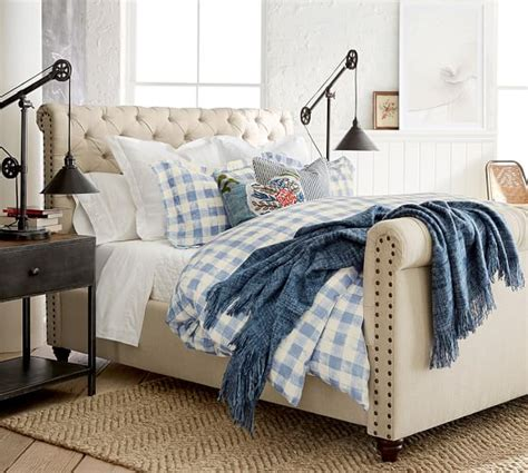 pottery barn chesterfield bed pottery barn customer appreciation sale 20 furniture