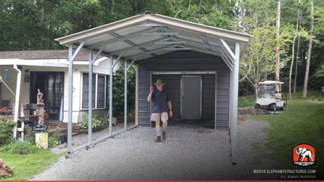 Metal Carport Structures Metal Carports For Sale Get Prices On Custom Steel