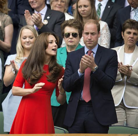 kate and william prince william and catherine at wimbledon lainey gossip