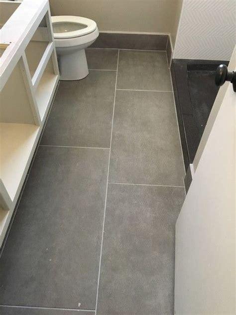 small bathroom tile floor large floor tiles in a small bathroom really makes an