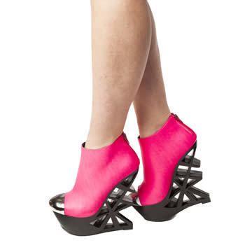 Heegheels Privileged womens pink privileged crunk high heels from schuh co uk