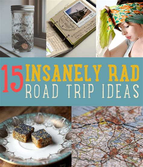 essential road trip items diy projects craft ideas how