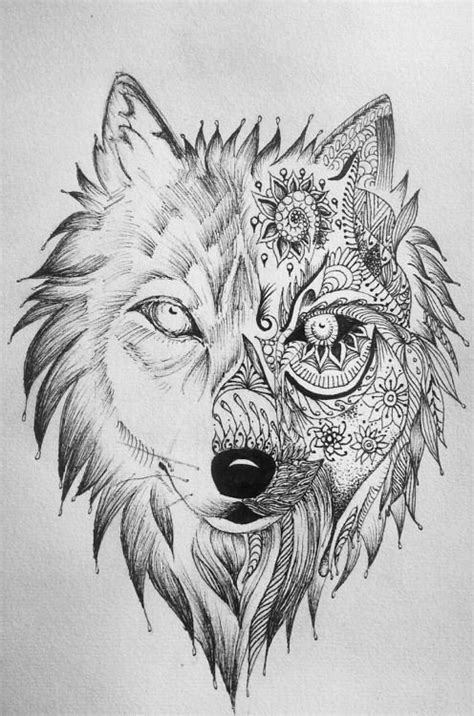 Wolf Zentangle Outline by 17 Best Images About Zentangle On Wolves Eagles And Animals