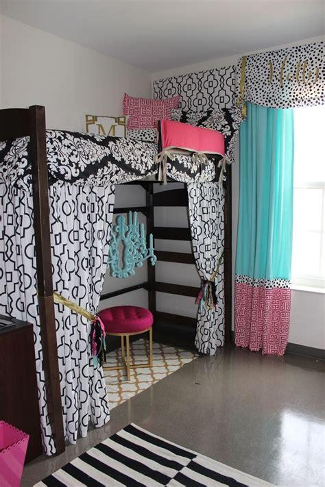 custom dorm panels  dorm bedding  loft add  space ole  minor hall sorority