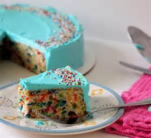 homemade funfetti cake tramplingrose