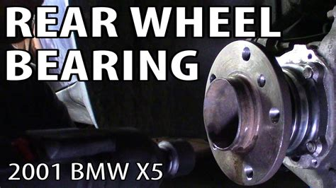 how to replace rear wheel bearing in a 1997 chrysler lhs how to change a rear wheel bearing on an e53 bmw x5 youtube