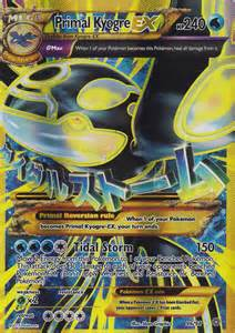 card primal kyogre ex 96 98 xy ancient origins mint