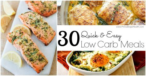 easy low carb dinners
