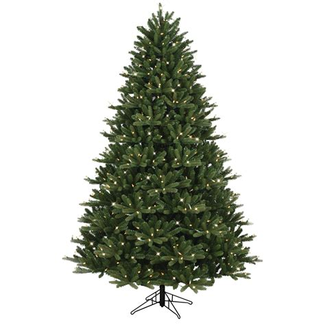 christmas tree electric parts general electric 7 5 just cut medium frasier fir artificial tree with 600 energy