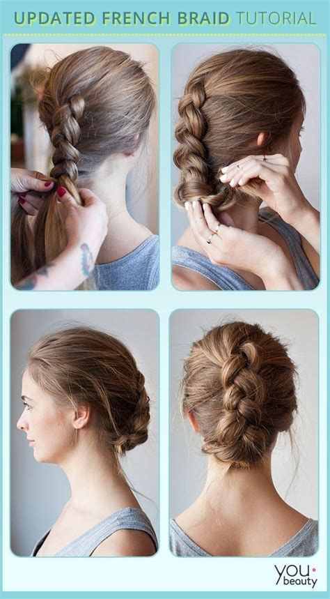 Braided Hairstyles Tutorials how to braid headband hairstyle hair tutorial