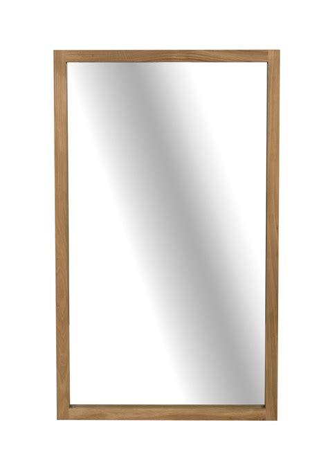 m miroir light frame miroir en ch 234 ne d ethnicraft hauteur 150cm
