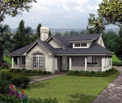Bungalow Cottage Country Ranch House Plan 87804 Country House Plans Bungalow