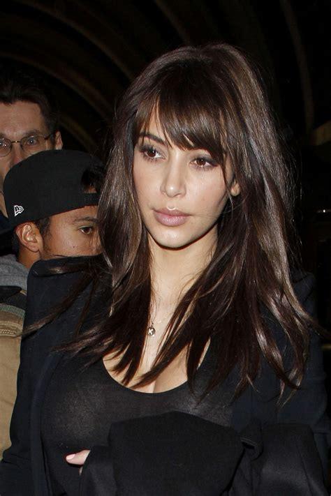 Kim kardashian new haircut 14 gotceleb