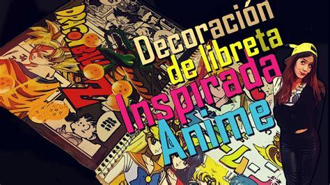 decorar mi cuarto anime decoraci 243 n de libreta inspirada en animes parte 2 youtube