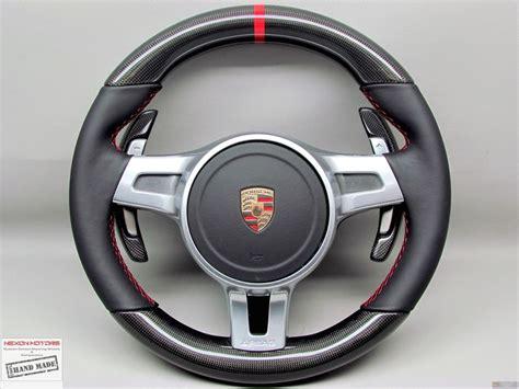 porsche steering wheel porsche 911 991 turbo carrera panamera cayenne thick pdk