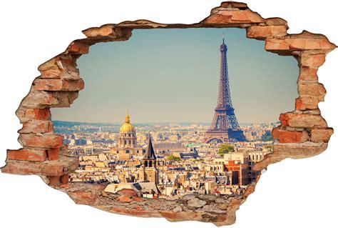 3d Sticker Paris by Stickers Trompe L Oeil 3d Paris Pas Cher
