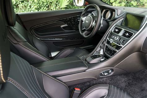 green aston martin db11 aston martin db11 spied with mercedes benz interior components