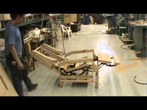 how to fix a recliner chair antique furniture repair llc custom recliner frame youtube