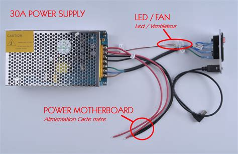 power supply wiring