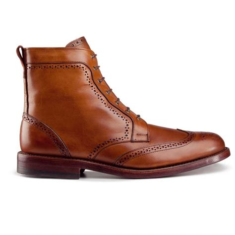 dress boots allen edmonds mens dalton wingtip dress boots walnut