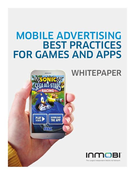 ads in mobile apps mobile advertising best practices for and apps