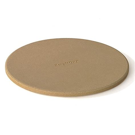 pizza stone bed bath and beyond berghoff 174 cooknco 9 inch pizza stone in natural bed bath