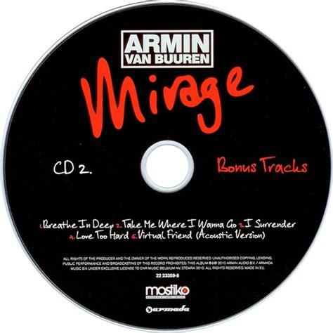 Armin Buuren Limited car 225 tula cd2 de armin buuren mirage limited edition