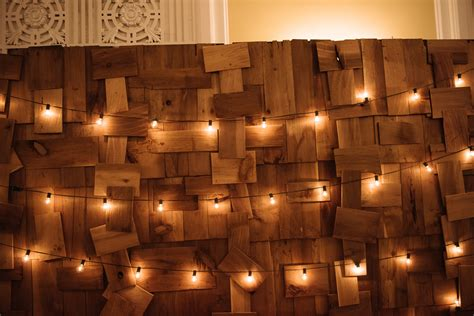 String Lights Wall - wedding lighting ideas pursell photography inc vancouver