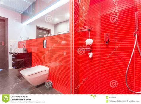 mosaico rosso bagno bagno con mosaico rosso idee per l arredamento di un