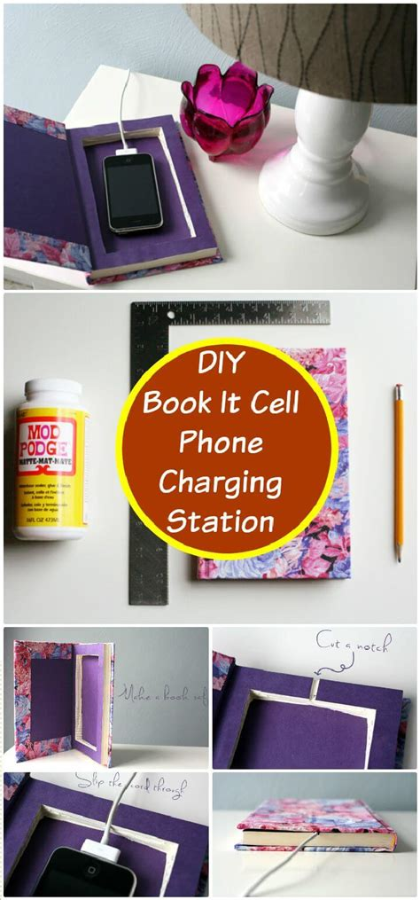 diy wireless phone charging station 40 best diy charging station ideas easy simple unique