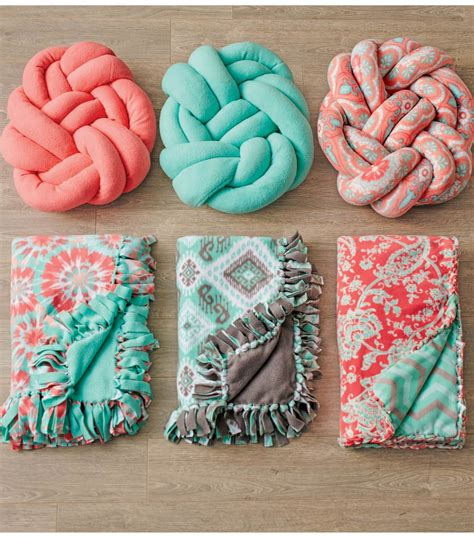 fabric crafts fleece vibrant patterned fabric takes centerstage in this project