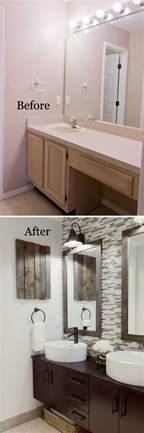 bathrooms remodel pictures before and after 20 awesome bathroom makeovers hative