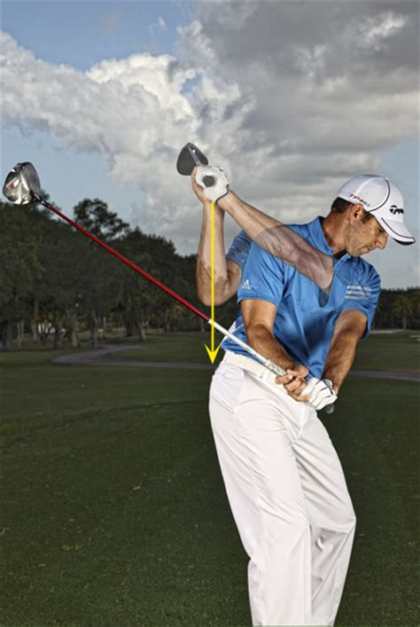 no hands golf swing sergio garcia gives golf swing tips on how to hit it solid