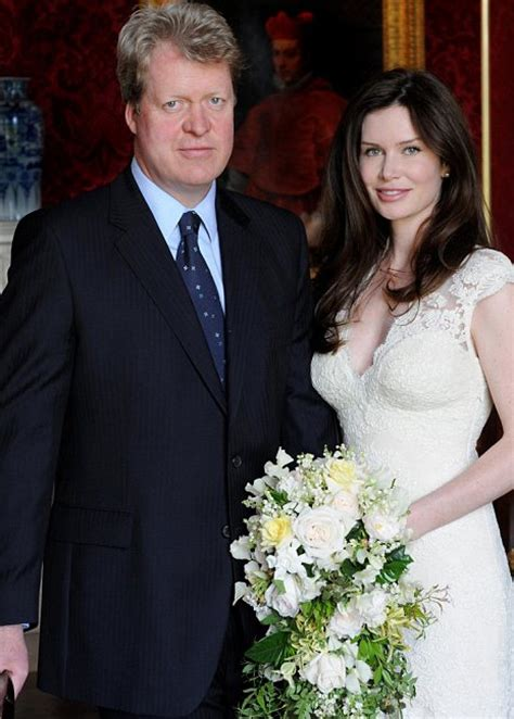 karen spencer countess spencer earl spencer marries karen gordon in althorp northtonshire