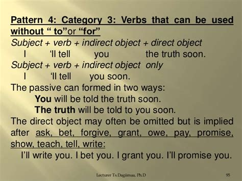 verb pattern forgive syntax lecture