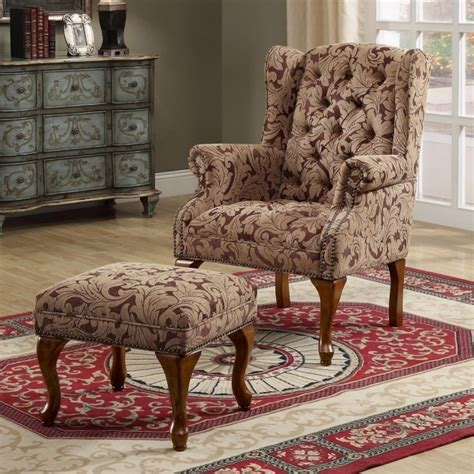 Floral Living Room Chairs Swivel Accent Chair With Arms Chair Design
